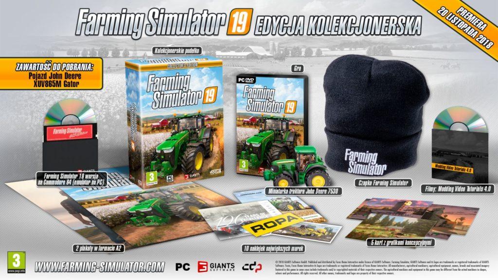 Farming Simulator 19 Edycja Kolekcjonerska