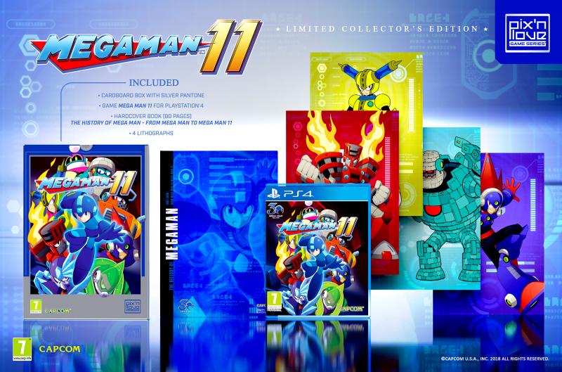 Mega Man 11 Edycja Kolekcjonerska