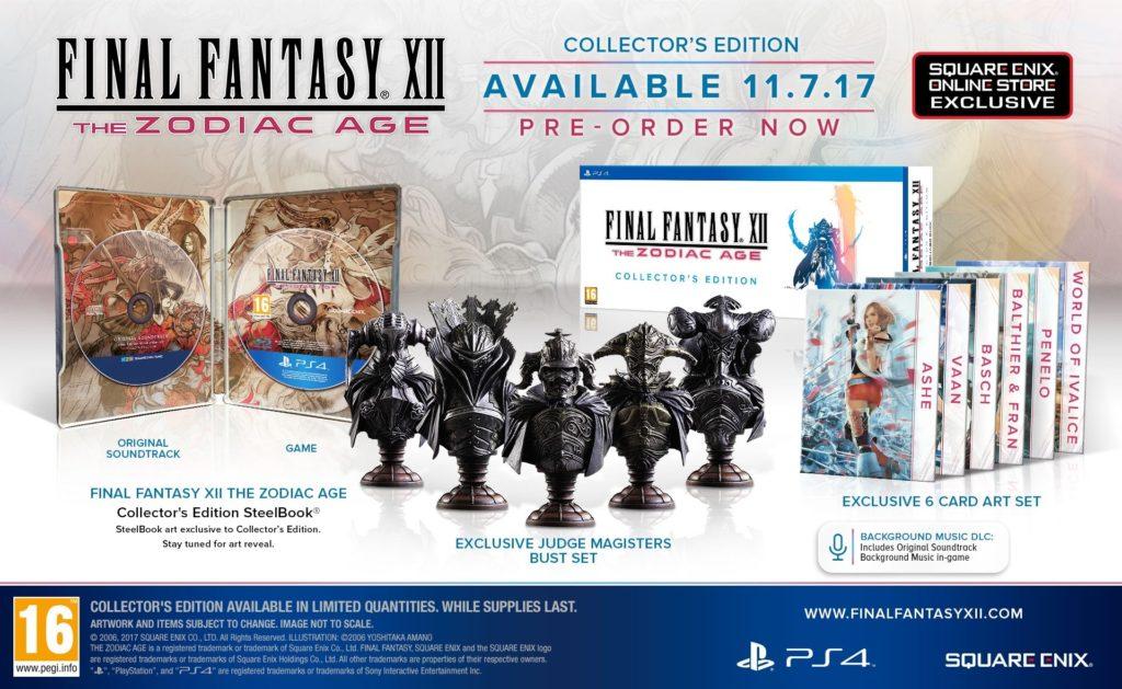 Final Fantasy XII The Zodiac Age Edycja Kolekcjonerska