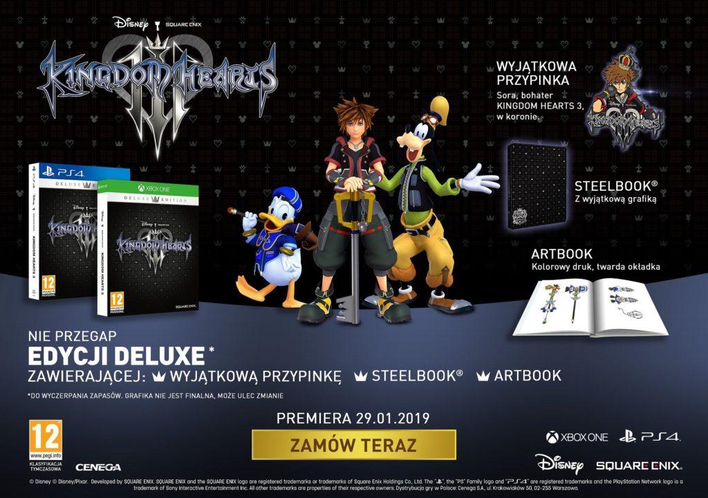 Kingdom Hearts III Edycja Deluxe