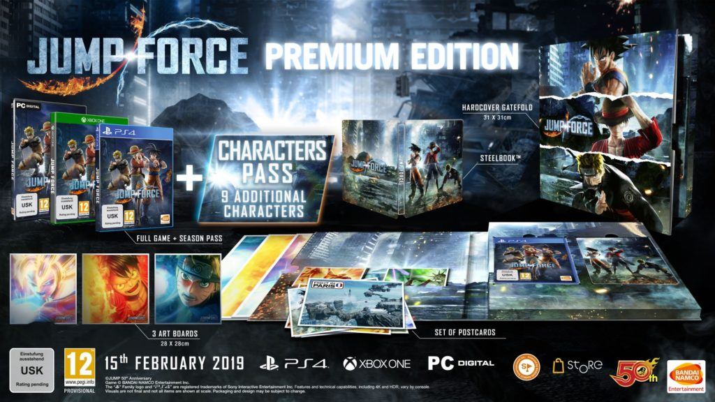 Jump Force Premium Edition