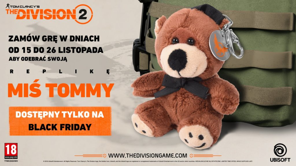 The Division 2 Miś Tommy