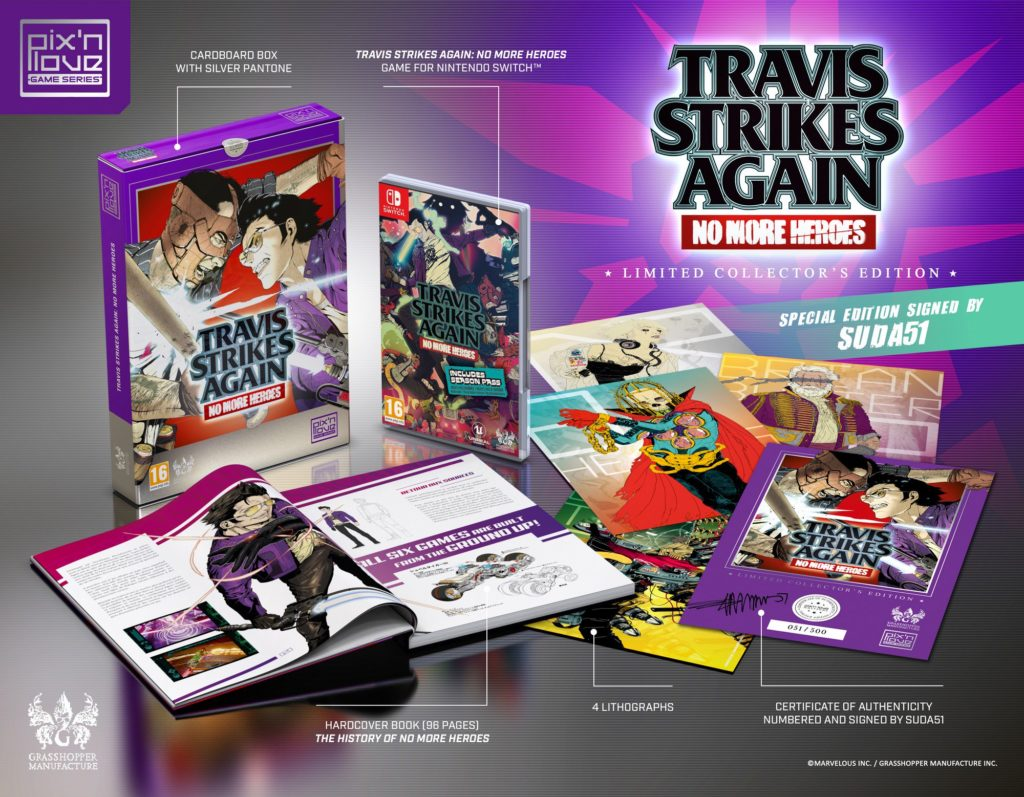 Travis Strikes Again: No More Heroes Collectors' Edition