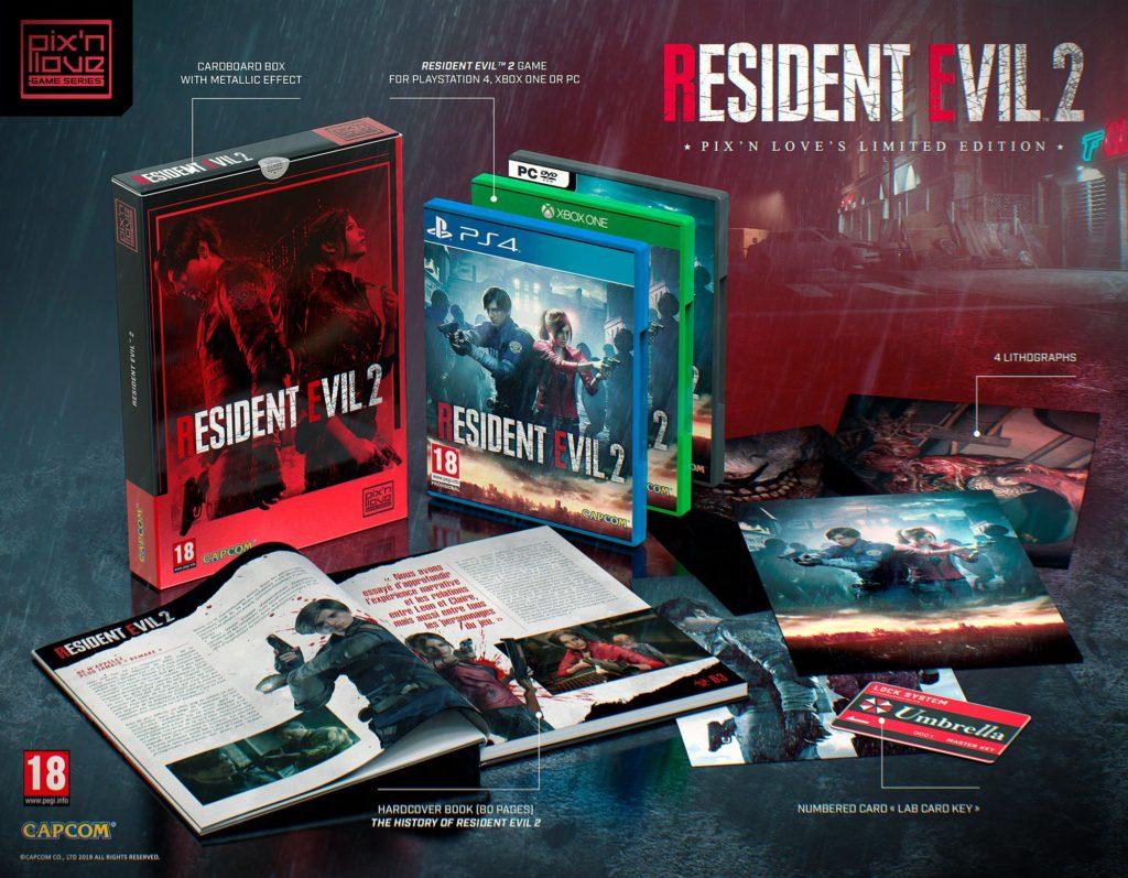 Resident Evil 2 limitowana edycja Pix'n Love