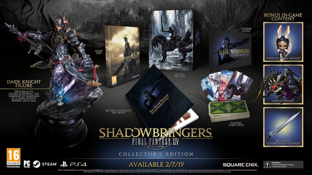 Final Fantasy XIV: Shadowbringers Edycja Kolekcjonerska