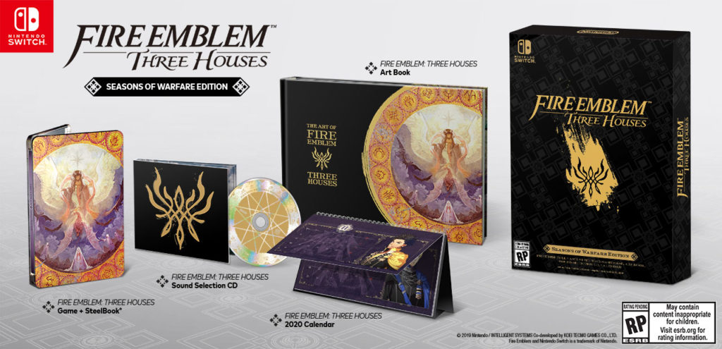 Fire Emblem Three Houses Limited Edition US