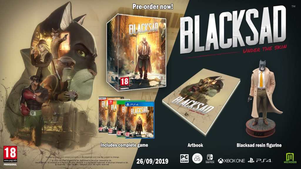 Blacksad: Under the Skin Edycja Kolekcjonerska