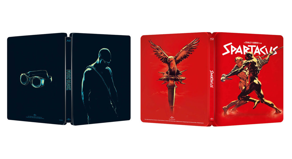 Pitch Black Spartakus Steelbook
