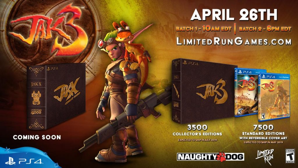Jak 3 Limited Run Games