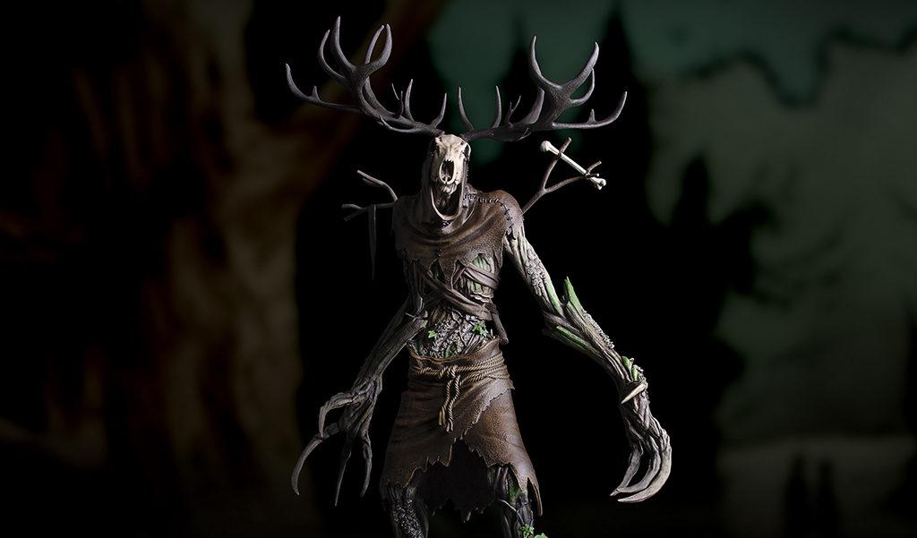 Wiedźmin 3 figurka Leszy