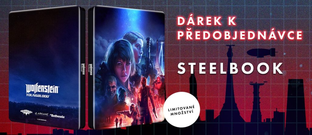 Wolfenstein: Youngblood Steelbook