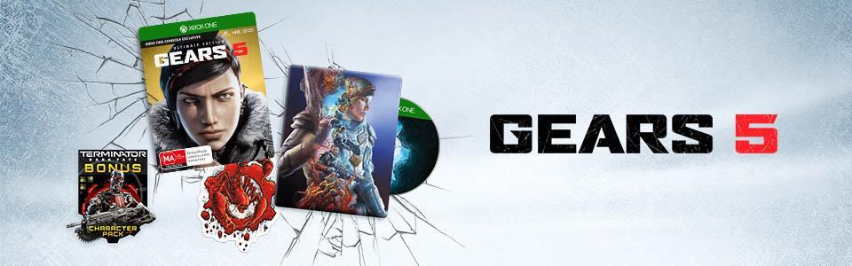 Gears 5 Edycja Ultimate Steelbook