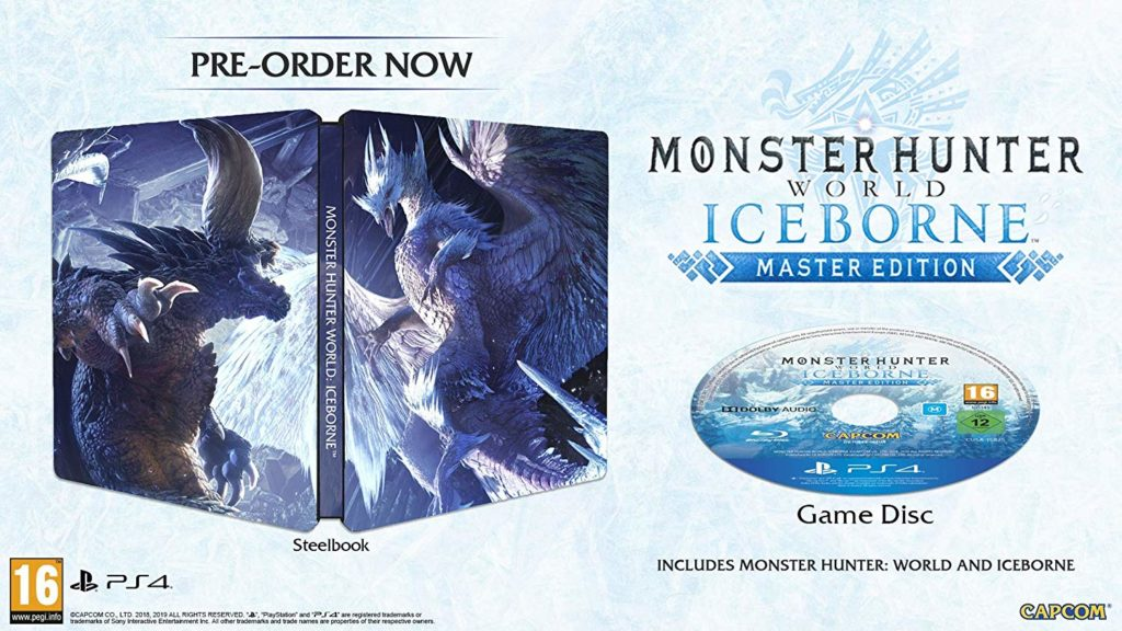 Monster Hunter World Iceborne Steelbook