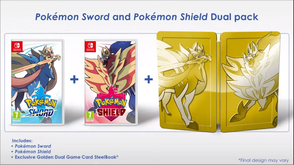 Pokemon Sword/Shield Dual Pack