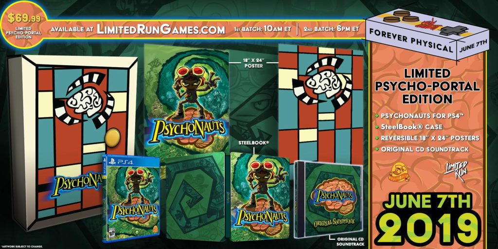 Psychonauts Limited Psycho-Portal Edition