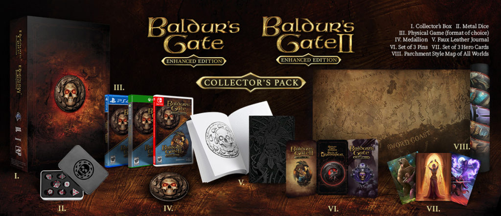 Baldur's Gate: Enhanced Edition Collector's Pack