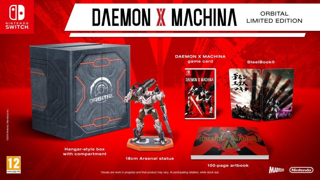 Daemon X Machina Orbital Limited Edition