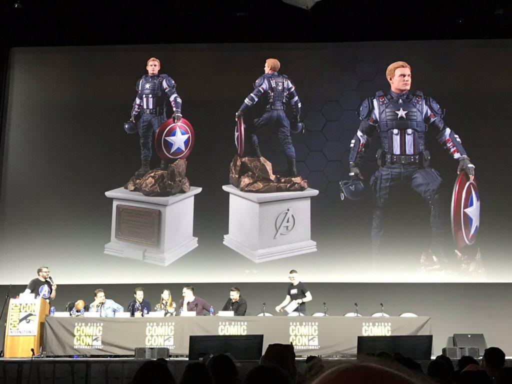Marvel's Avengers Edycja Kolekcjonerska figurka Kapitana Ameryki