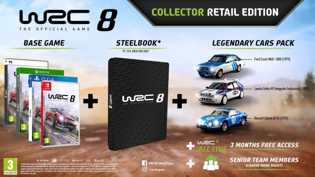 WRC 8 Collector Edition