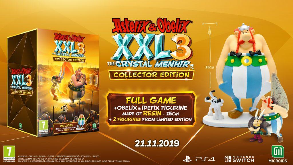 Asterix & Obelix XXL 3: The Crystal Menhir Edycja Kolekcjonerska