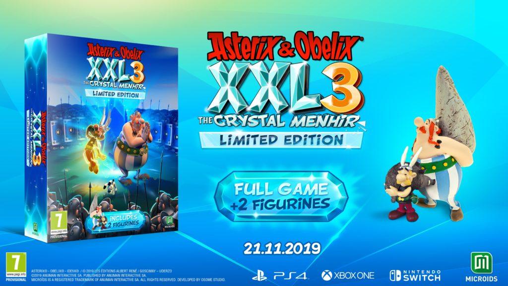 Asterix & Obelix XXL 3: The Crystal Menhir Edycja Limitowana