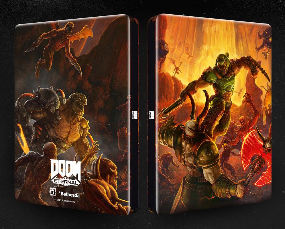 DOOM Eternal Steelbook