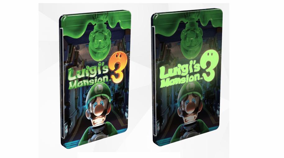 Luigi's Mansion 3 Steelbook