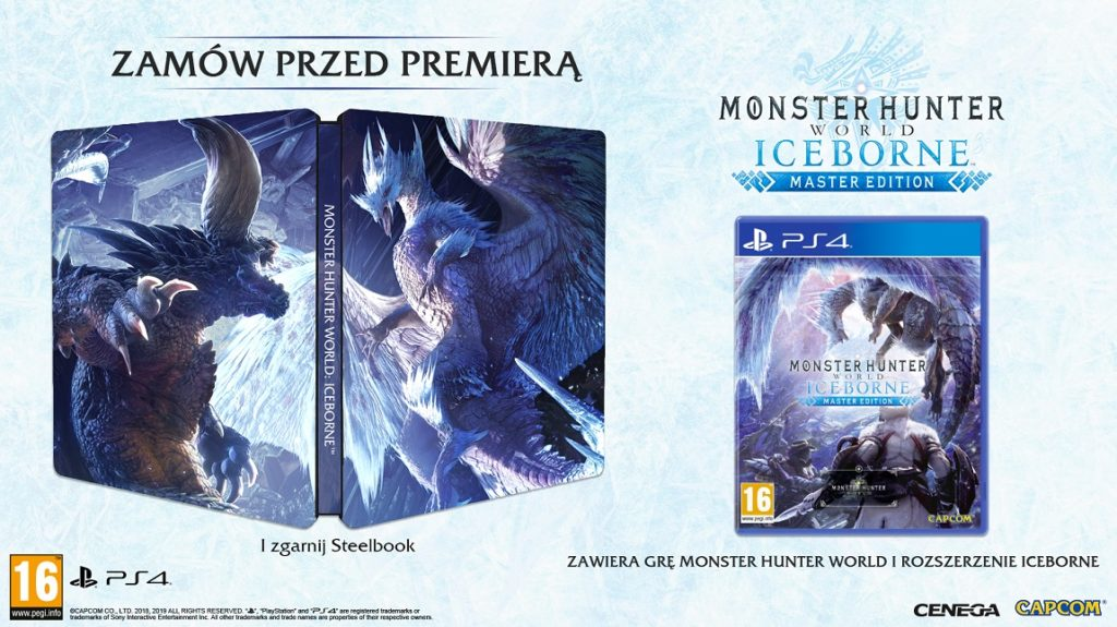 Monster Hunter World Iceborne Steelbook
