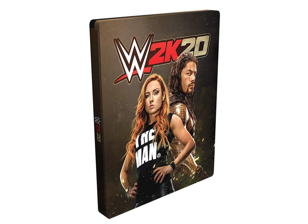 WWE 2K20 Steelbook