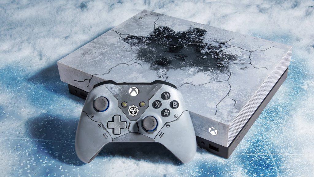 Xbox One X limitowana edycja Gears 5