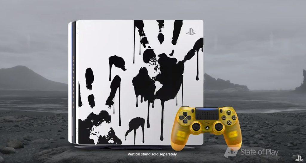 Playstation 4 Pro Limitowana Edycja Death Stranding