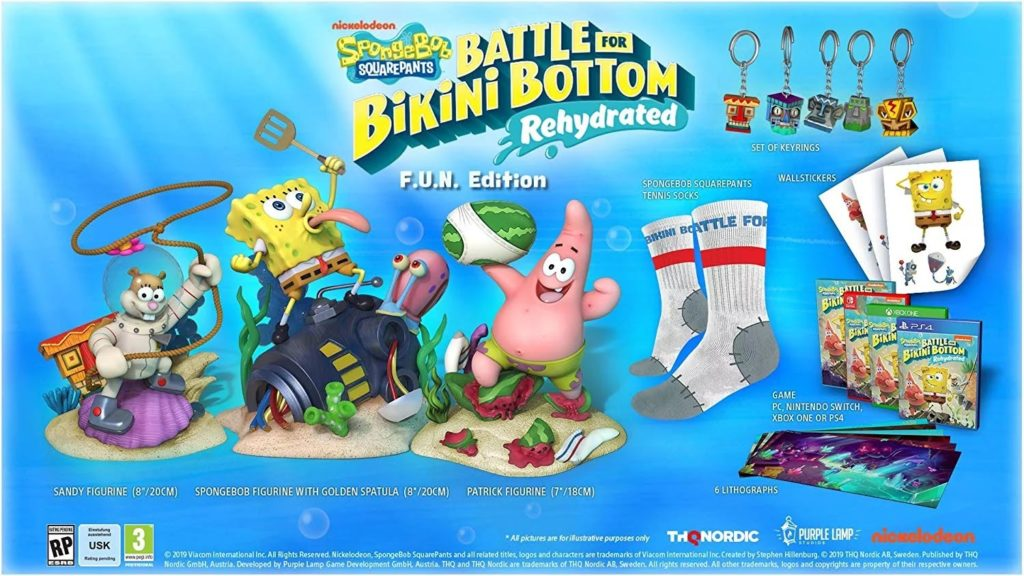 SpongeBob SquarePants: Battle for Bikini Bottom F.U.N. Edition
