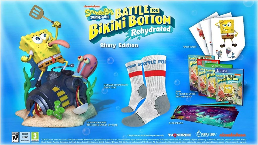 SpongeBob SquarePants: Battle for Bikini Bottom Shiny Edition