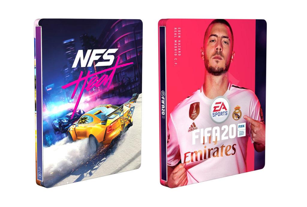 FIFA 20 Need for Speed Heat Steelbook
