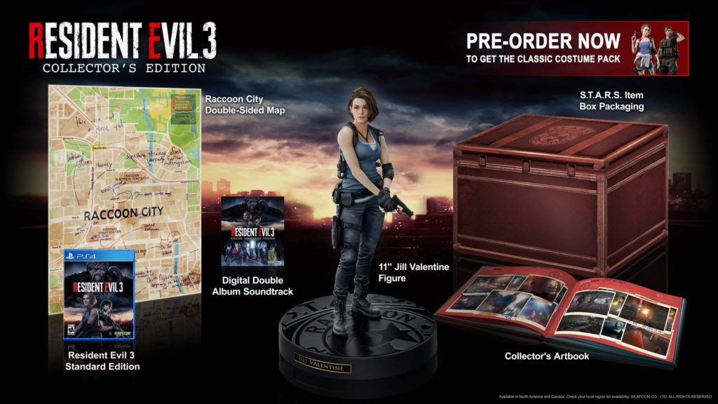 Resident Evil 3 Remake Edycja Kolekcjonerska