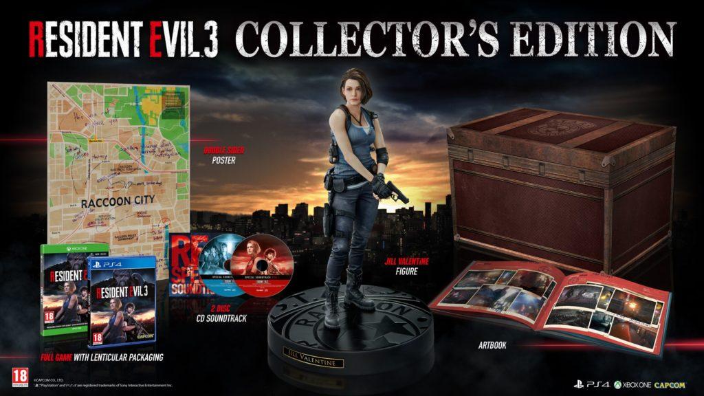 Kolekcjonerskie wydanie Resident Evil 3 dostępne w Empiku