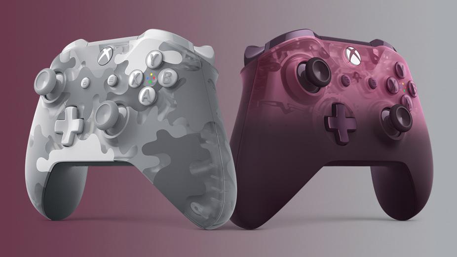 Kontrolery Xbox One Arctic Camo Phantom Magenta