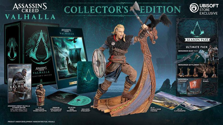 Assassin's Creed Valhalla Edycja Kolekcjonerska
