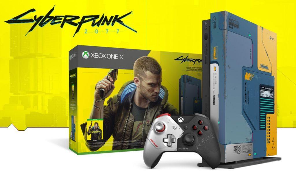 Limitowana edycja konsoli Xbox One Cyberpunk 2077