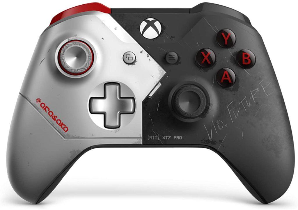 Kontroler Xbox One imitowana edycja Cyberpunk 2077