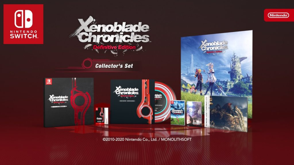 Edycja Kolekcjonerska Xenoblade Chronicles Definitive Edition