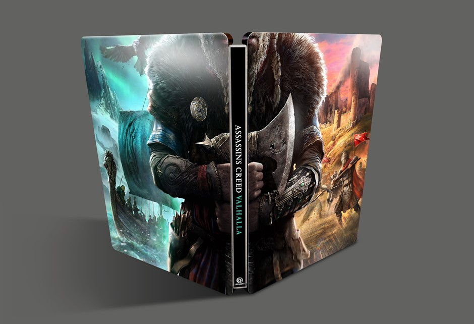 Assassin's Creed Valhalla Steelbook