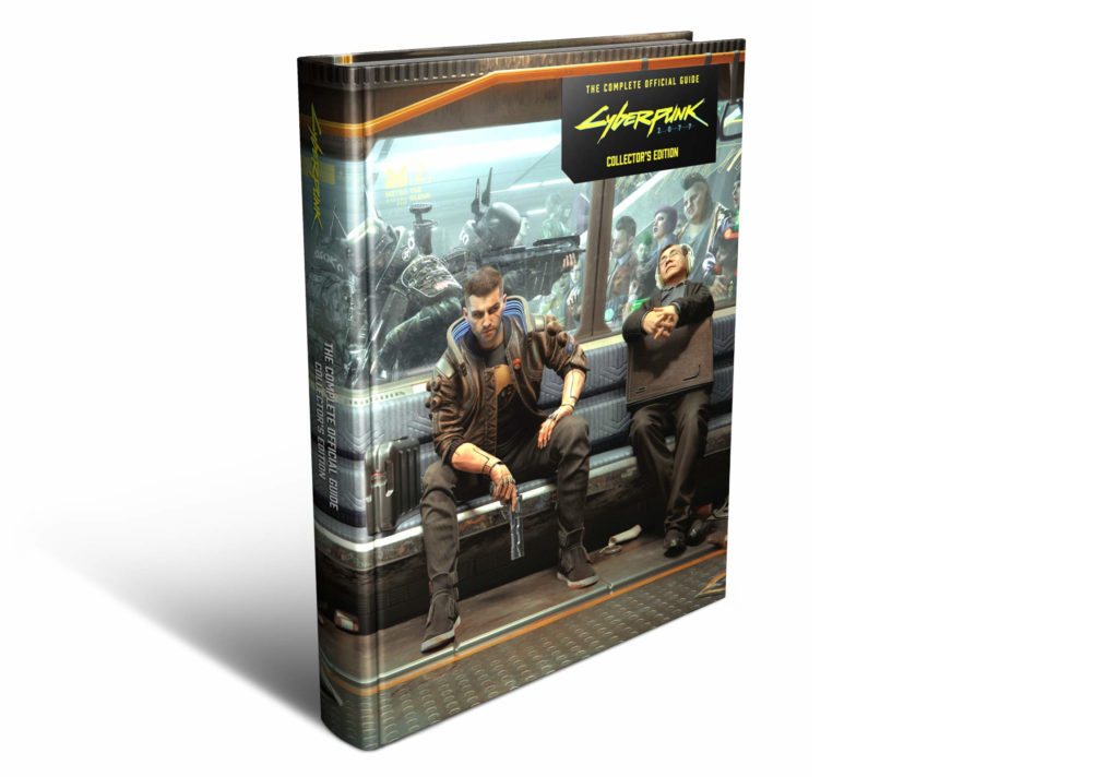 Cyberpunk 2077 - kolekcjonerska edycja oficjalnego poradnika