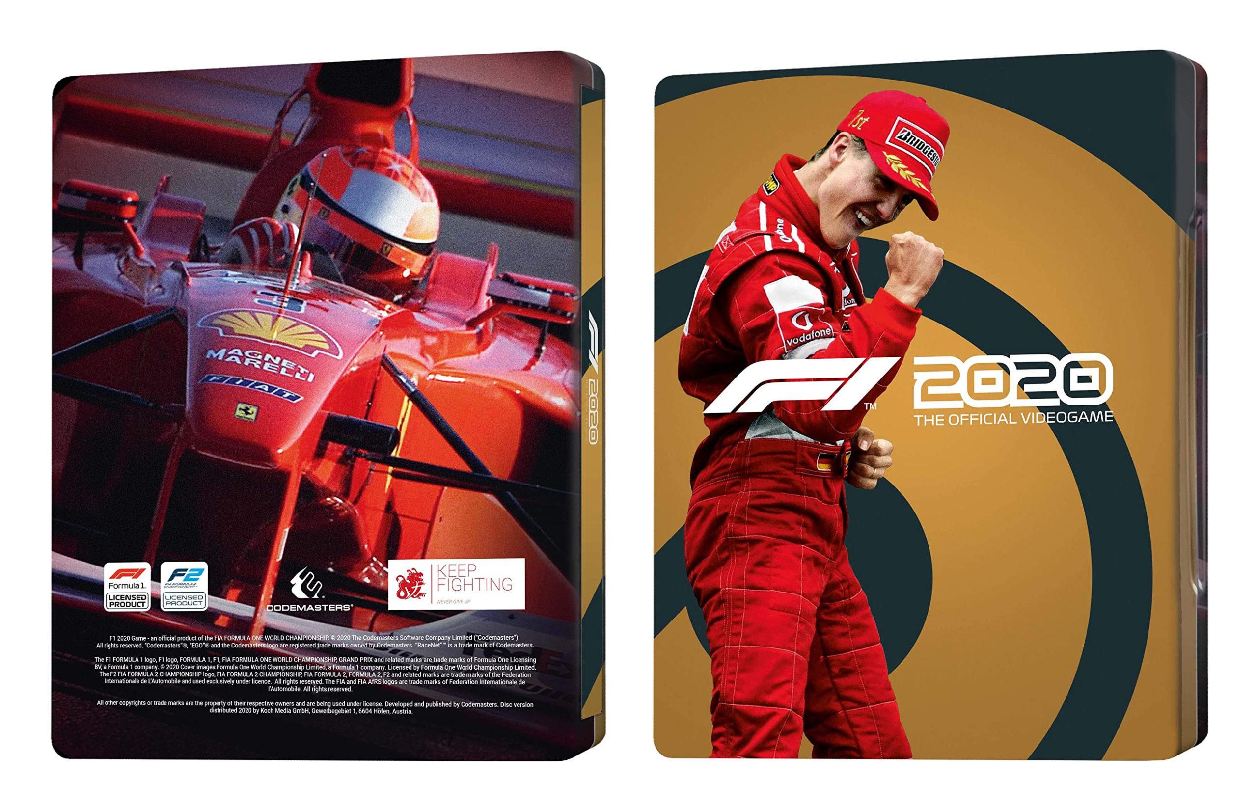 F1 2020 Edycja Deluxe Schumacher na PC + Steelbook za 149 ...