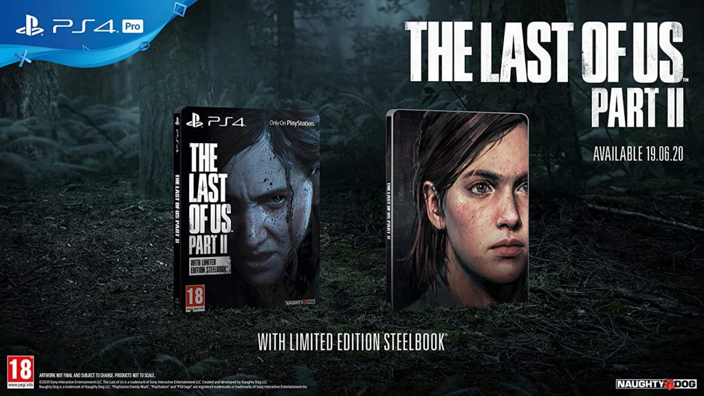 The Last of Us Part II Steelbook
