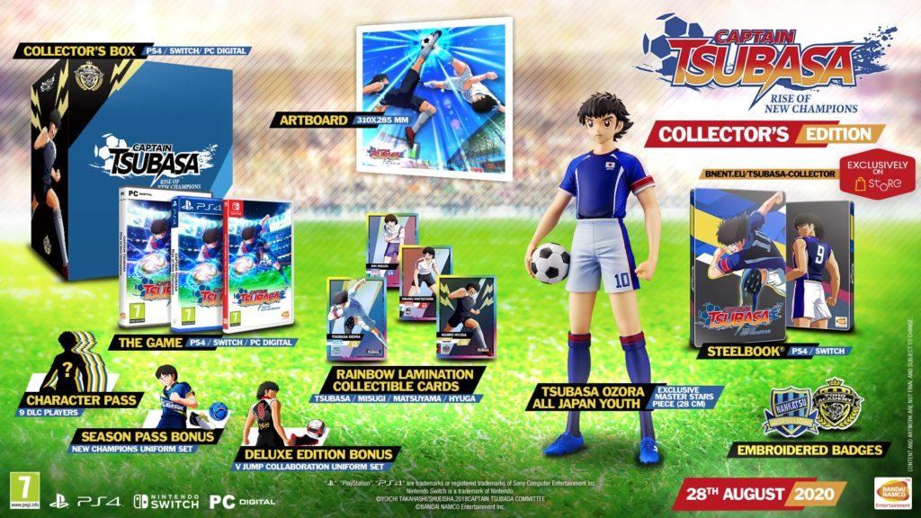 Captain Tsubasa Rise of New Champions Edycja Kolekcjonerska