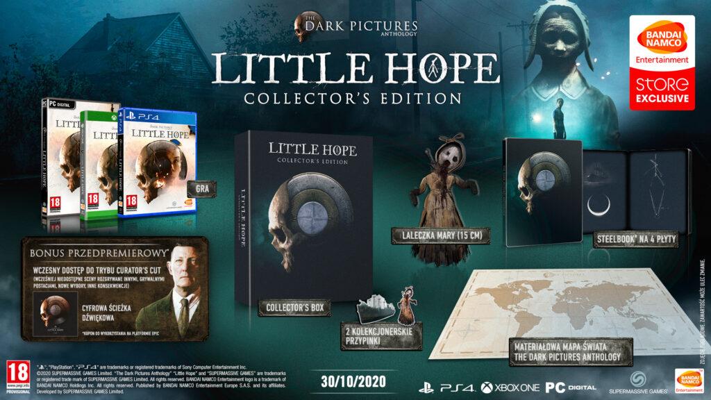 The Dark Pictures Anthology: Little Hope Edycja Kolekcjonerska