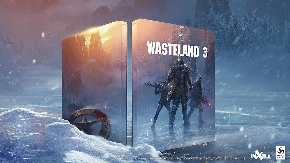 Wasteland 3 Steelbook