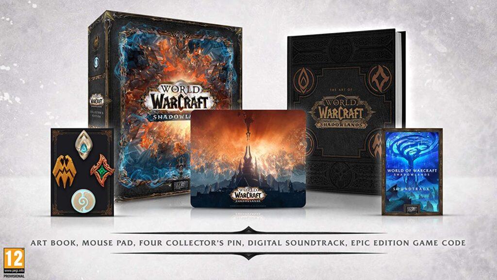 World of Warcraft: Shadowlands Edycja Kolekcjonerska