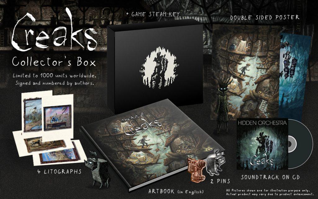 Creaks Collector's Box